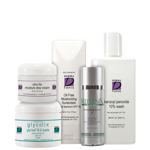 acne regimen normal dry sensitive level 2