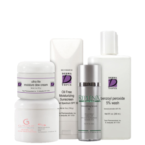 acne regimen normal dry sensitive level 1