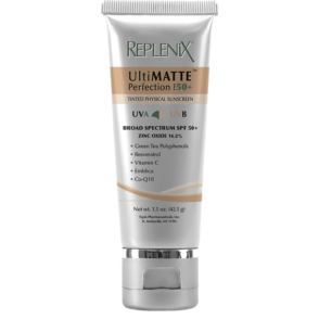 replenix ultimatte perfection tinted physical sunscreen
