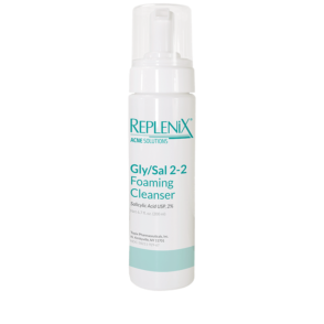 replenix acne solutions gly-sal 2-2 foaming cleanser